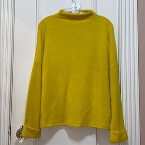NWT yellow sweater